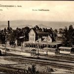Dworzec w Gryfowie Śląskim