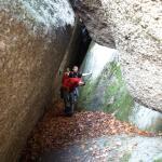 Wejście do kolejnej jaskini Witoszy
