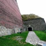 Wejście na Niższy Bastion