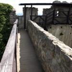 Zamkowy mur