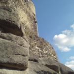 Zamek Chojnik od strony południowej