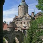 Zamek Czocha widok z altanki