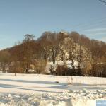 Widok z drogi do Płonina