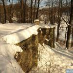 Mury dziedzińca