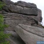 Pośledni Mur Bażynowe Skały Nadolne