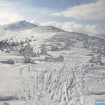 Chmury nad Śnieżką