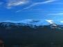 Widok na góry Karkonoszy